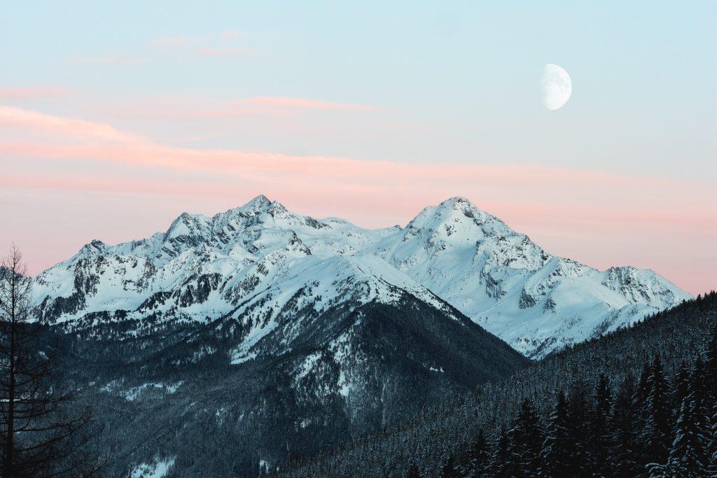 Snowy Mountain Photo by Eberhard Grossgasteiger